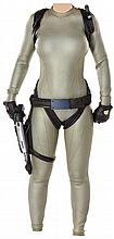 Angelina Jolie wetsuit and gun rig from Lara Croft Tomb Raider: The Cradle of Life.