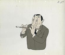 Original production cel of Joe Penner from Walter Lantz's Hollywood Bowl.
