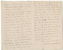 [Civil War - Reconstruction] Four letters providing insights of the Reconstruction of the Nation