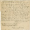 Nelson, Horatio. Two autograph letters signed twice, 3 pages, 9 and 10 February 1801.