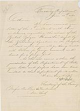 [Civil War - Northern Blockade - Anaconda Plan] A comprehensive group of 18 letters and telegrams.