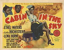 Complete (8) lobby card set for Cabin in the Sky.