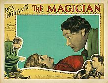 The Magician lobby card.