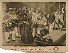 The Pit and the Pendulum (2) lobby cards.