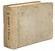 [Byrd, Richard E.]. Studio Key Book from With Byrd at the South Pole (Paramount, 1930).