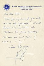 Armstrong, Neil. Exceedingly rare early autograph letter signed (