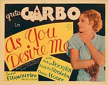 Title-lobby card for As You Desire Me.
