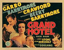 Title-lobby card for Grand Hotel.
