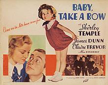 Shirley Temple (3) lobby cards from Baby Take a Bow.