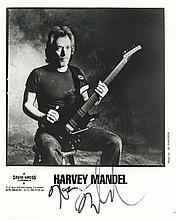 Harvey Mandel signed photograph.