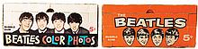 (2) The Beatles bubble gum trading cards store display boxes.