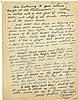 Woody Guthrie handwritten signed letter to Moe Asch regarding