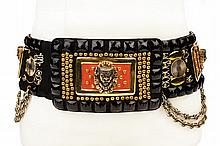 Elvis Presley ornate stage-worn belt.