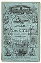 Dickens, Charles. A Tale of Two Cities. With illustrations by H.K. Browne. First Edition.