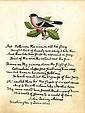 Adams, John Quincy. Autograph original poem signed.