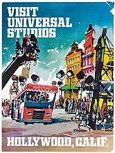 Universal Studios Tour poster.