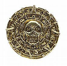 Pirates of the Caribbean: Curse of the Black Pearl hero Aztec coin.