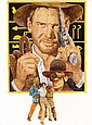 Raiders of the Lost Ark poster concept art by Tom Jung.