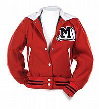 WMHS Cheerios female Letterman jacket.