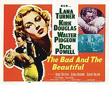 The Bad and the Beautiful half-sheet poster.
