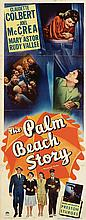 The Palm Beach Story insert poster.