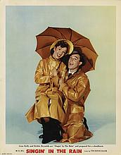 Singin' in the Rain deluxe lobby card, best in the set.