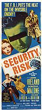 Vintage Crime, Noir and Suspense (17) insert poster collection.