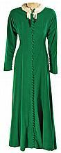 Carmen Miranda green dress used by Frances Bergen