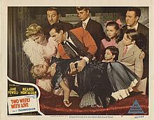 (3) Lobby cards including Three Little Words, Debbie Reynolds' first appearance on a lobby card.