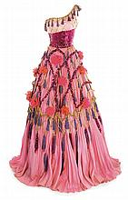 Jetsy Parker pink dance dress designed by Helen Rose from I Love Melvin.