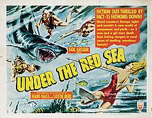 Vintage action and adventure (12) half-sheet poster collection.