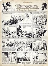 "Hal Foster ""Tarzan"" 1-8-33 Egyptian Sequence."
