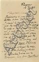 Dvorak, Anton. Autograph letter signed (