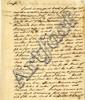 Adams, Samuel. Autograph letter signed (