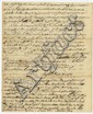 [Battle of Bunker Hill.] Martin Gay. Signed letter, 4 pages (9 x 7 3/8 in.; 229 x 187 mm.)