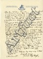 Wright, Frank Lloyd. Autograph letter signed (
