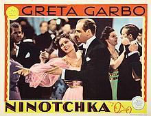 Greta Garbo (18) lobby cards from 2 films.