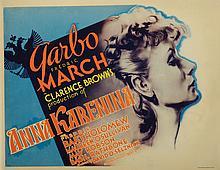 Greta Garbo (6) lobby cards from Anna Karenina.