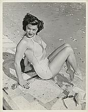 Early oversize Esther Williams double-weight portrait in Classic