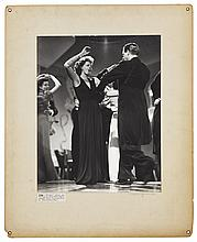 Oversize custom portrait of Greta Garbo as