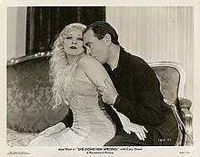Collection of (10) Mae West photos from (2) early films.