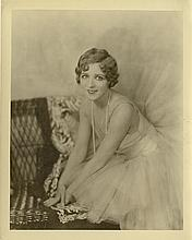 Collection of (6) vintage photographs of Mary Pickford and other female stars.