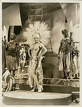 Oversize double-weight portrait of Winnie Lightner for the 1931 Film Sit Tight by Bert Six.