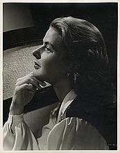 Oversize portrait of Ingrid Bergman from Notorious by Ernest A. Bachrach.
