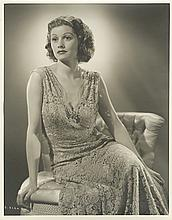 Oversize portrait of Lucille Ball from Dance, Girl, Dance by Ernest A. Bachrach.