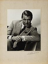Oversize exhibition portrait of Cary Grant from Suspicion by Ernest A. Bachrach.