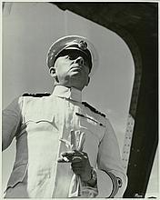 Oversize vintage photograph of Erich von Stroheim.