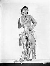 Collection of (4) vintage original camera negatives of Anna May Wong.