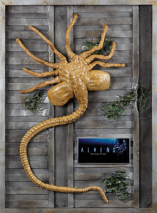 Original Aliens Facehugger prop.