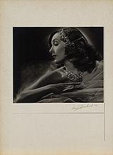 Oversize exhibition portrait of Lupe Velez from The Girl from Mexico by Ernest A. Bachrach.